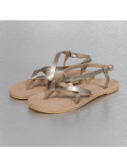 Hailys Sandals Janet gold colored