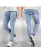 Hailys Skinny Jeans Taya blå