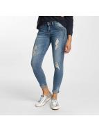 Hailys Skinny jeans Ines Destroyed blå