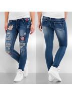 Hailys Skinny Jeans Paula blau