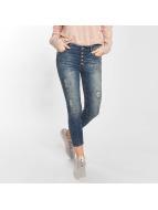 Hailys Skinny Jeans Kristal blau