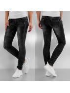 Hailys Skinny jeans Ruby grå