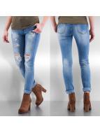 Hailys Skinny Jeans Bianca mavi
