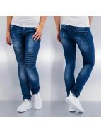 Hailys Skinny Jeans Olivia modrý