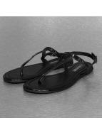 Hailys Slippers/Sandalen Stella zwart