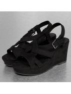 Hailys Slippers/Sandalen Kate zwart