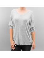 Hailys T-Shirt manches longues Alina gris