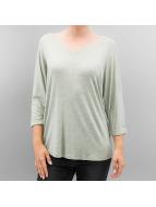 Hailys T-Shirt manches longues Alina olive