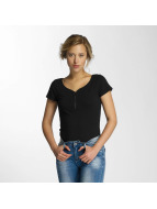 Hailys T-Shirt Pia schwarz