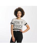 Hailys T-skjorter Bonnie Cropped grå