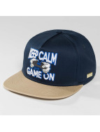 Hands of Gold Snapback Cap Game On blue