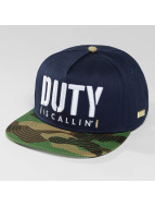 Hands of Gold Snapback Cap Is Callin blue