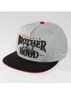 Hands of Gold Snapback Cap Brotherhood gray