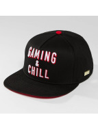 Hands of Gold snapback cap Chillin zwart