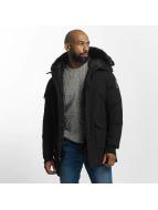 Helvetica Winter Jacket Timber Long Black Edition black