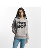 Homeboy Felpa con cappuccio Rome grigio