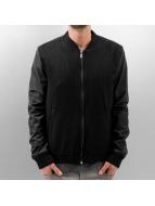 HQ Университетская куртка Cashmere черный