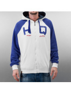 HQ Sweat à capuche zippé Zip Mike blanc