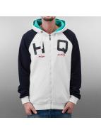 HQ Zip Hoodie California белый