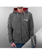 HQ Zip Hoodie Decline серый