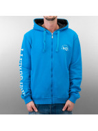 HQ Zip Hoodie Decline синий
