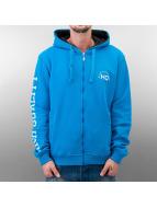HQ Zip Hoodie Decline blau