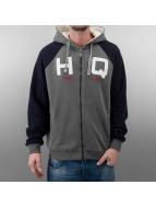 HQ Zip Hoodie Zip Mike grau