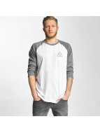HUF Водолазка Triple Triangle Raglan белый