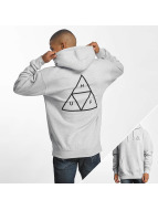 HUF Толстовка Triple Triangle серый