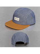 HUF 5 Panel Caps Chambray Volley blauw