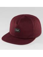 HUF Casquette Snapback & Strapback Box Logo rouge