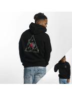HUF Hoodie Roses Triple Triangle black