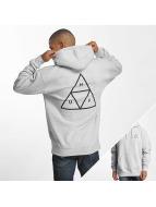 HUF Hoody Triple Triangle grijs