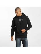 HUF Hoody Bar Logo schwarz