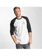 HUF Pitkähihaiset paidat Triple Triangle valkoinen