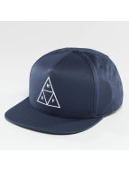 HUF Snapback Triple Triangle bleu