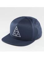 HUF Snapback Triple Triangle bleu