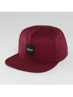 HUF Snapback Cap Bar Logo red