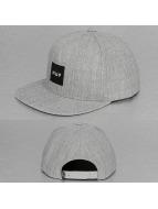 HUF Snapback Caps Box Logo harmaa