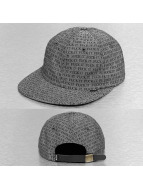 HUF Snapback Fuck It Chambray 6 Panel noir