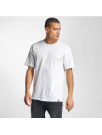 HUF T-Shirt Triple Troangle Pocket blanc
