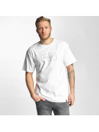 HUF T-Shirt Bar Logo blanc