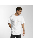 HUF T-Shirt Pink Panther Box Logo Apparel blanc