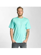 HUF T-Shirt Box Logo Puff blau