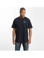 HUF T-Shirt Triple Tiangle blau