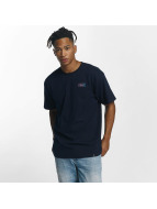 HUF T-Shirt Gradient Bar Logo blau