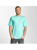 HUF T-Shirt Box Logo Puff bleu