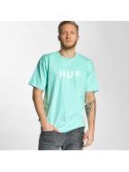 HUF T-Shirt Original Logo bleu