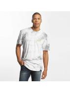 HUF T-Shirt Washed Triple Triangle grau