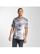 HUF T-Shirt Crystal Wash Triple Triangle gris